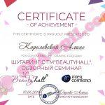 Обзорный семинар по шугарингу TM Beautyhall