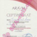 Обучение с правом преподавания Aravia I уровень
