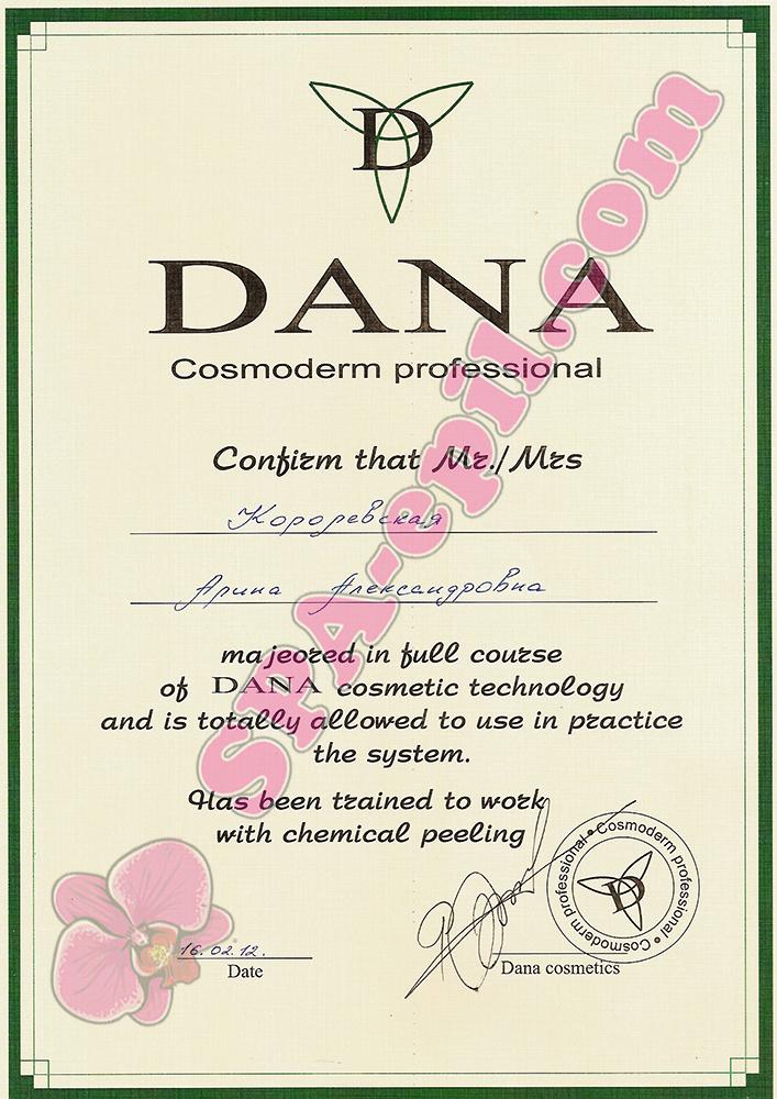 Базовый семинар Dana
