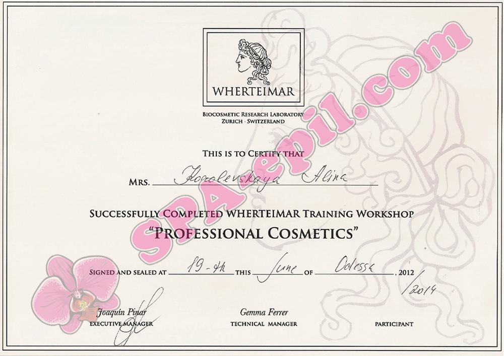 Базовый семинар Wherteimar