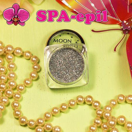 Блестки MoonLight № 2 (серебряный металлик)