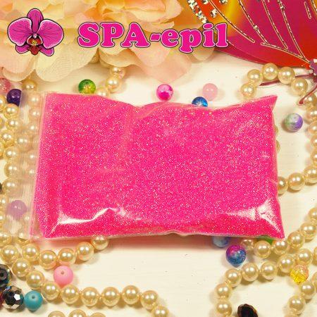 Блестки оттенка № 100 (радужный ярко-розовый)
