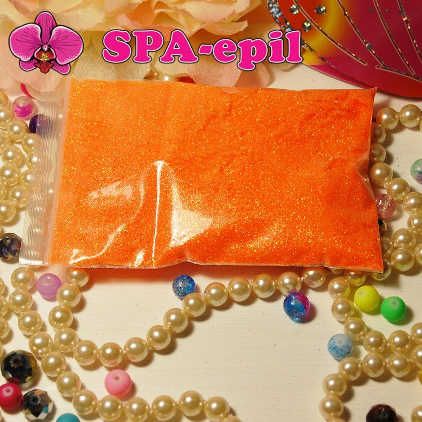 Блестки оттенка № 101 (радужный оранжевый)