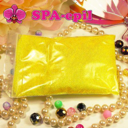 Блестки оттенка № 106 (сверкающий радужный яркий желтый)
