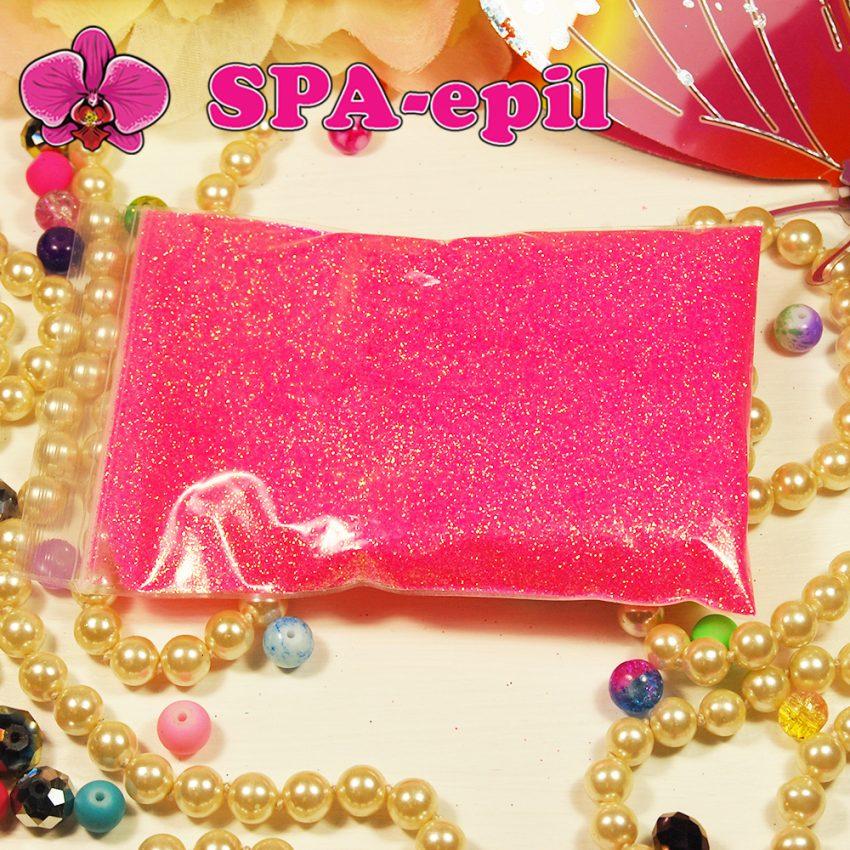 Блестки оттенка № 111 (сверкающий радужный розовый)
