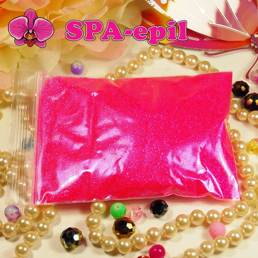 Блестки оттенка № 115 (сверкающий радужный яркий розовый)