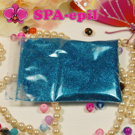 Блестки оттенка № 55 (голубой металлик)