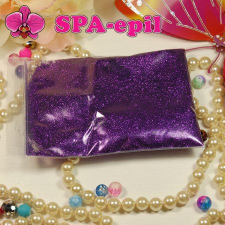 Блестки оттенка № 61 (фиолетовый металлик)