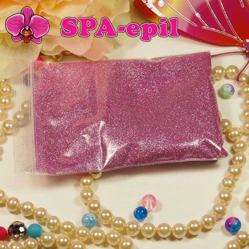 Блестки оттенка № 69 (розово-сиреневый металлик)