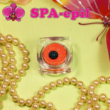 Блестки MoonLight № 18 (радужный неоновый оранжевый)