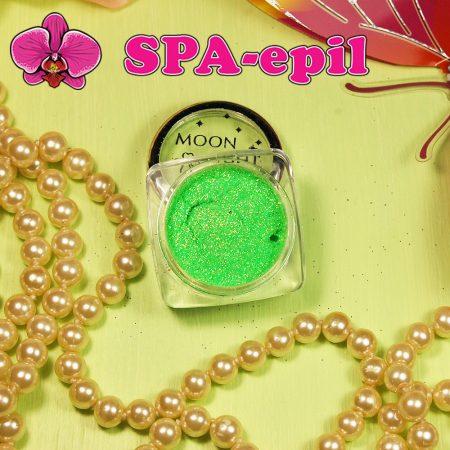 Блестки MoonLight № 20 (радужный неоновый светло-зеленый)Блестки MoonLight № 20 (радужный неоновый светло-зеленый)