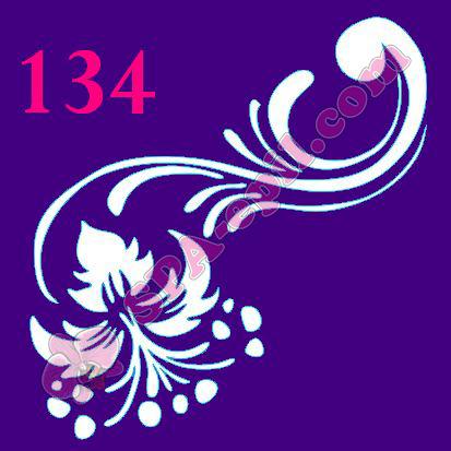 "Трафарет для биотату № 134 (""Цветок"")"