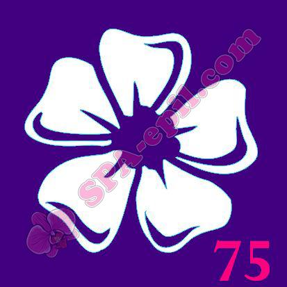 "Трафарет для биотату № 75 (""Цветок"")"