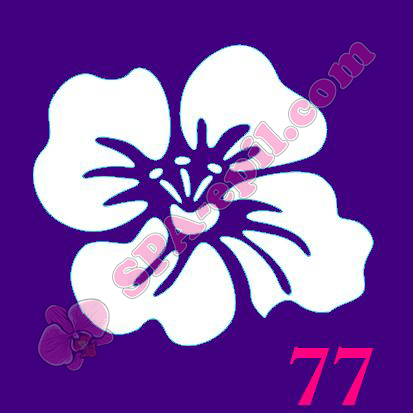 "Трафарет для биотату № 77 (""Цветок"")"