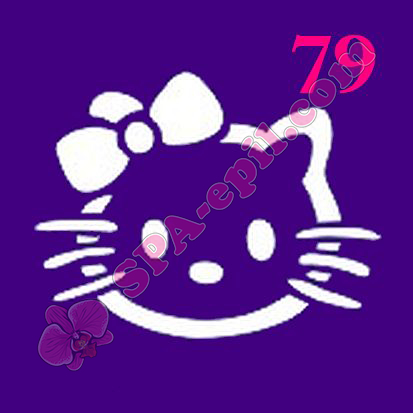 "Трафарет для биотату № 79 (""Hello Kitty"")"